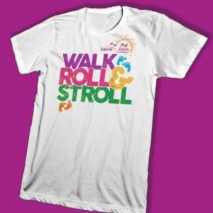 Walk Roll & Stroll t-shirt