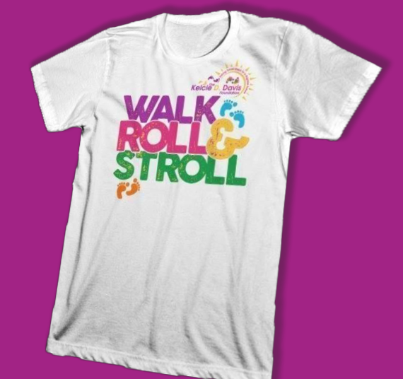 Walk Roll & Stroll t-shirt